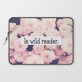 Le wild reader Laptop Sleeve