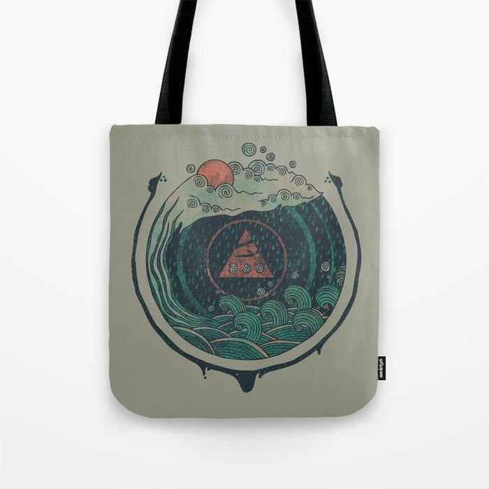 Water Tote Bag