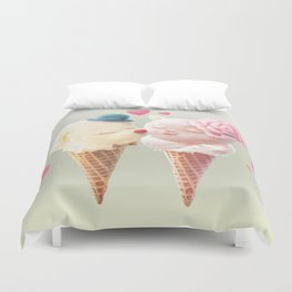 Ice Cream Love Duvet Cover