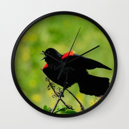 Stay away from here! Wall Clock