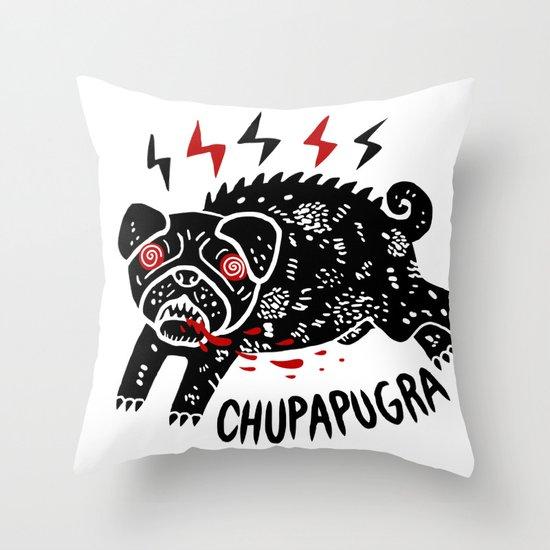 Chupapugra Throw Pillow