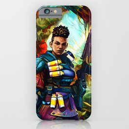 Colorful Soldier iPhone Case