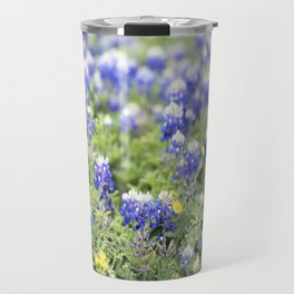 Texas' State Flower Travel Mug