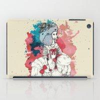 marie antoinette iPad Cases featuring Marie Antoinette by Phie Hackett