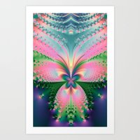 magical girl Art Prints featuring Magical Girl by Need Some Inspiration