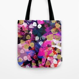 April Abstract Tote Bag