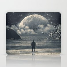 Meeting with her Laptop & iPad Skin