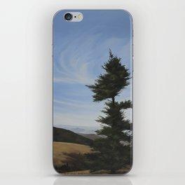 Windblown Tree iPhone Skin