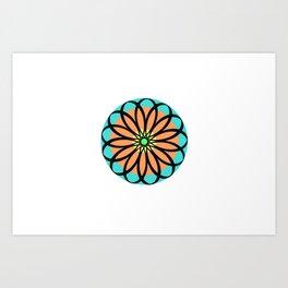 Mandala Design 1 Art Print