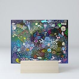 Space Opera Mini Art Print