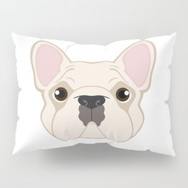 Frenchie - Cream Pillow Sham