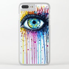 Color eyes Clear iPhone Case