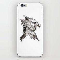 Hawk profile  iPhone & iPod Skin
