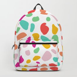 Summer Colorful Terrazza Backpack