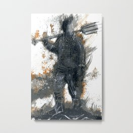 Permissive Burn Days Metal Print