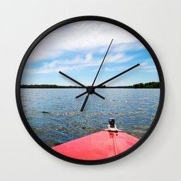 Lake Itasca - Minnesota, USA 7 Wall Clock