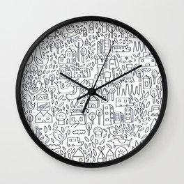 Neighborhood II Wall Clock