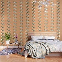 Cute Llama Pattern Wallpaper