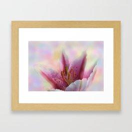 soft and dreamy -6- Framed Art Print