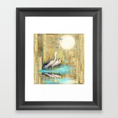 Nature Reflected Series: Local Life Framed Art Print
