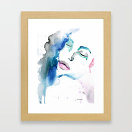 Angelina Two Framed Art Print