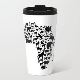 Animals of Africa Travel Mug