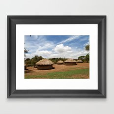 Boma Framed Art Print