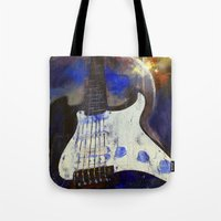 heavy metal Tote Bags featuring Heavy Metal by Michael Creese
