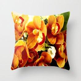 Orchid Corsage #decor #buyart #society6 Throw Pillow