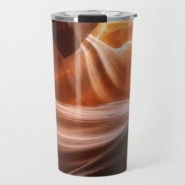 Swirls in Antelope Canyon - Page, Arizona Travel Mug