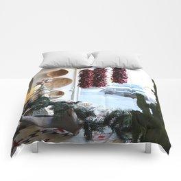 Christmastime Cacti Comforters