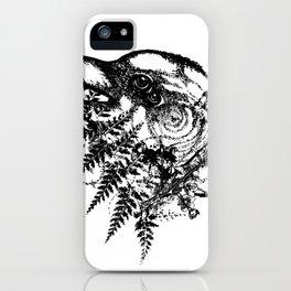 Bird Brain iPhone Case