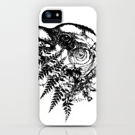 Bird Brain iPhone Case