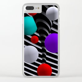 opart dreams -21- Clear iPhone Case