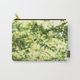 Bright Day-green leaves Carry-All Pouch