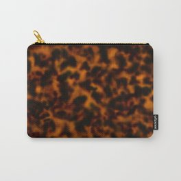 Tortoiseshell amber pattern  Carry-All Pouch