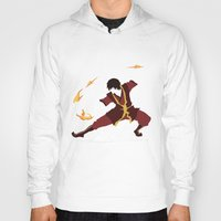 airbender Hoodies featuring Zuko by JHTY