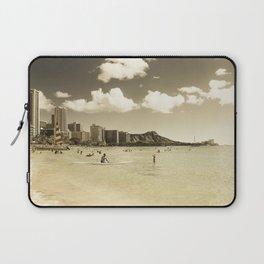 Waikiki Honolulu Oahu Hawaii Laptop Sleeve