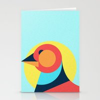 pagan Stationery Cards featuring Pagan animals - Bird by Atelier FP7