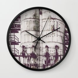 Ghosts of Industry Wall Clock
