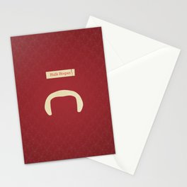 Hogan (Famous mustaches and beards) Stationery Cards