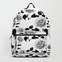 Alice in Illustration C15 Wonderland Rose Garden Pattern Backpack