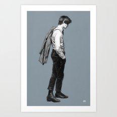Come Along Pond - Doctor Who Art Print