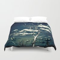 breathe Duvet Covers featuring BREATHE by Steffen Remter
