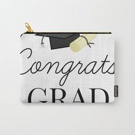 Congrats Grad - congratulations for Graduation Carry-All Pouch