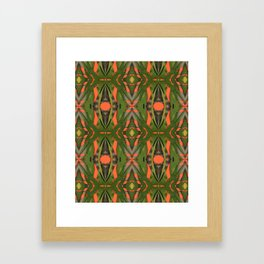ivy graffiti Framed Art Print