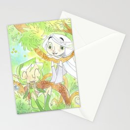 Saria and Aisling Stationery Cards
