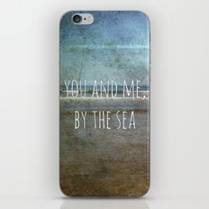 You and me, by the sea iPhone & iPod Skin