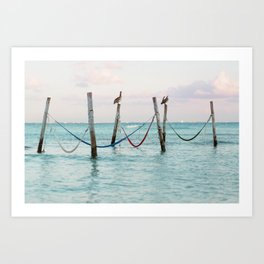 Sunrise on the Caribbean Art Print