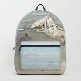 Salt Covered Bicycle Backpack